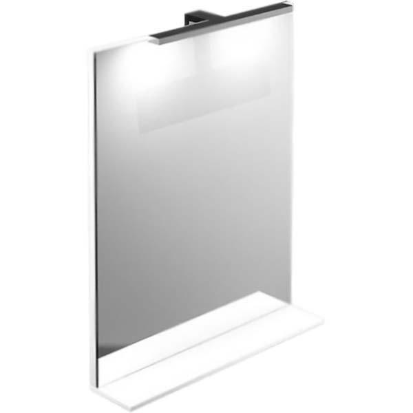 Зеркало Iddis Custo 55 с подсветкой Белое