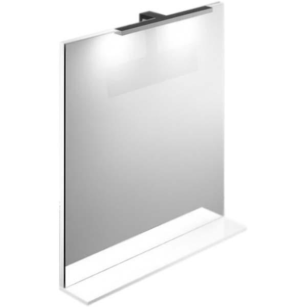 Зеркало Iddis Custo 70 с подсветкой Белое
