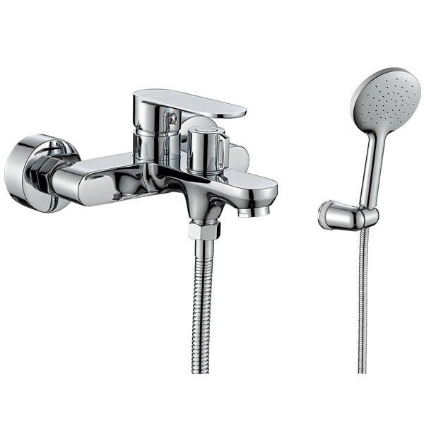 Смеситель для ванны Rush Luson LU1630-44 Хром смеситель с душевой лейкой rush luson lu1630 51 хром