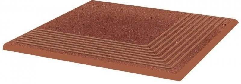 Ступень угловая Ceramika Paradyz Taurus Brown структурная 30х30 см