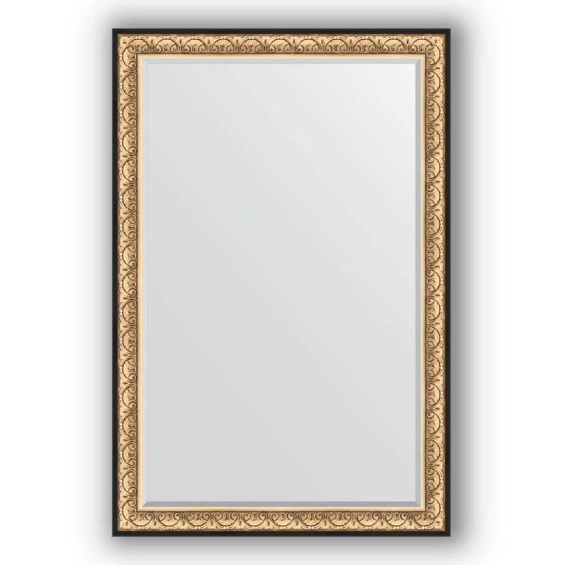 Зеркало Evoform Exclusive 180х120 Барокко золото зеркало evoform exclusive 180х120 барокко золото