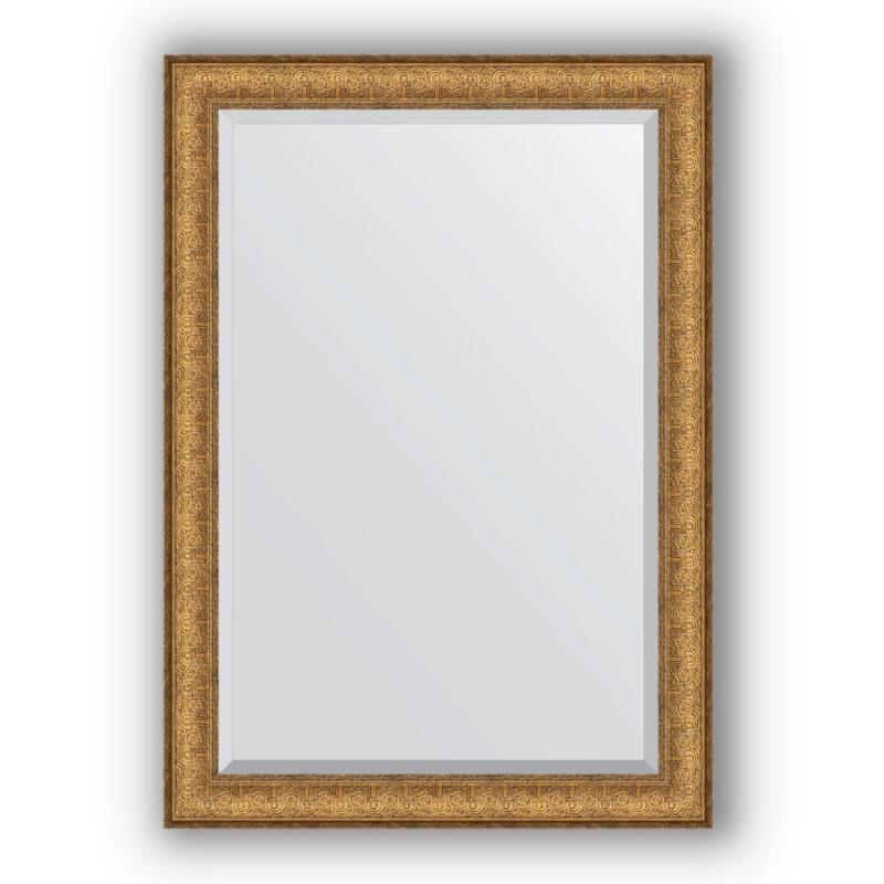 Зеркало Evoform Exclusive 104х74 Медный эльдорадо