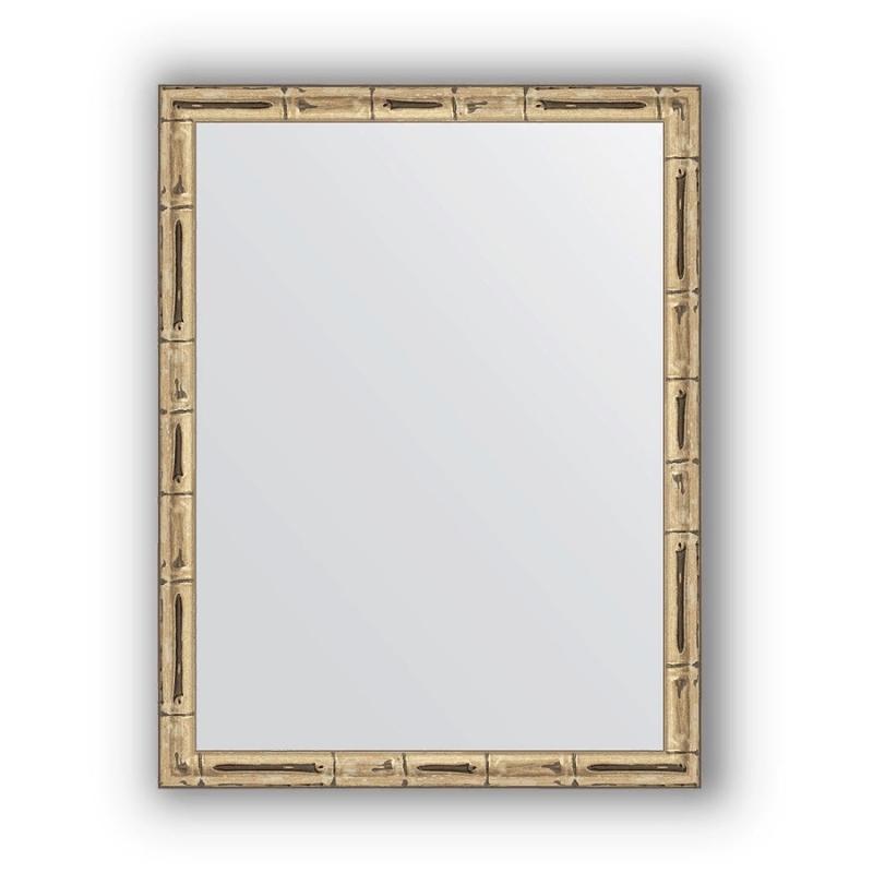 Зеркало Evoform Definite 44х34 Серебряный бамбук