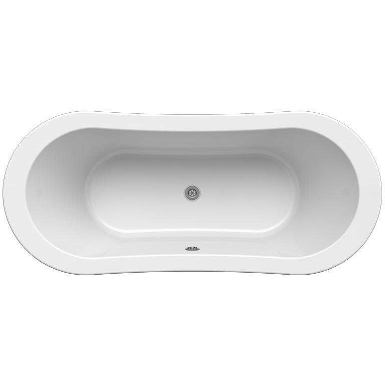 Акриловая ванна Radomir Орли 170x75 1-01-2-0-1-143 Белая с ножками хром орли косметика