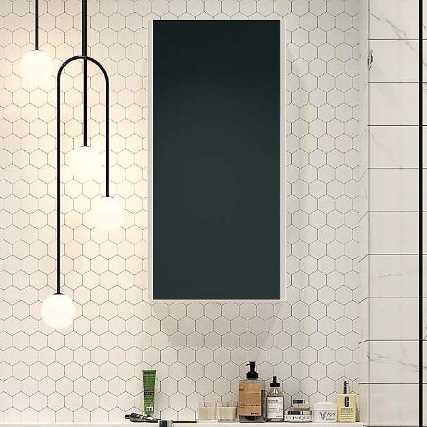 Зеркальный шкаф Velvex Klaufs 40 zsKLA.40-216 Белый зеркальный шкаф бриклаер бали 40 светлая лиственница