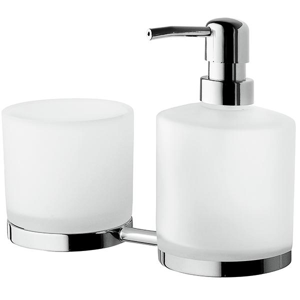 Serenity A40346900 ХромАксессуары для ванной<br>Стакан и дозатор для жидкого мыла AM PM Serenity A40346900.<br>