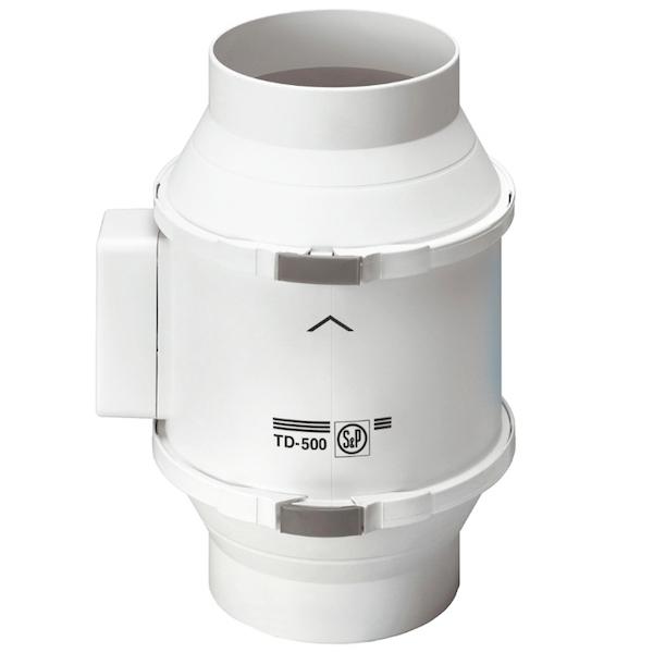 Вытяжной вентилятор Soler&Palau TD500/160 53 Вт вентилятор ned kvr 160 1