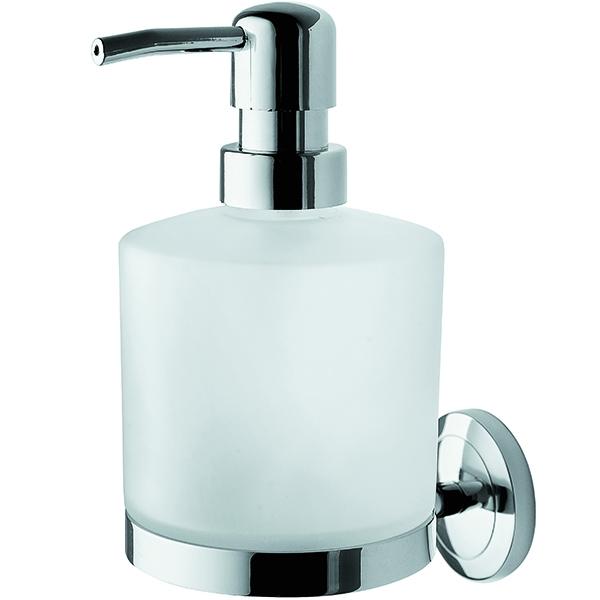 Serenity A4036900 ХромАксессуары для ванной<br>Стеклянный диспенсер для жидкого мыла AM PM Serenity A4036900, с настенным держателем.<br>