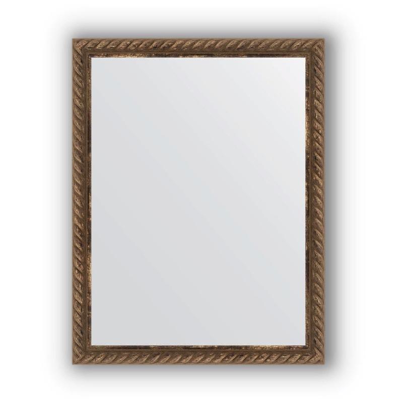 Зеркало Evoform Definite 44х34 Витая бронза зеркало evoform definite 44х34 орех
