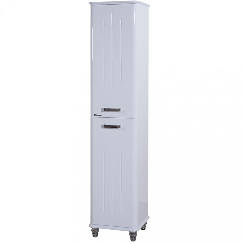 Шкаф пенал Bellezza Аллегро 35 L Белый шкаф пенал bellezza 60 белый