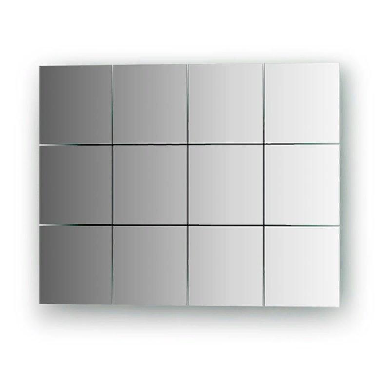 Зеркало Evoform Reflective 10х10 без подсветки