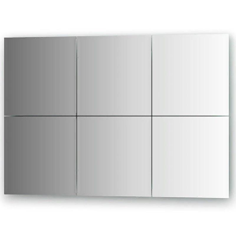 Зеркальная плитка Evoform Refractive 25х25 с фацетом 10 мм зеркальная плитка evoform reflective с фацетом 10 мм 20 х 20 см комплект 6 шт by 1515