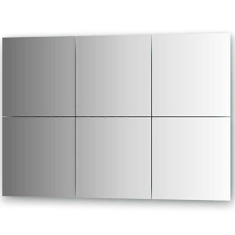 Зеркальная плитка Evoform Refractive 30х30 с фацетом 10 мм зеркальная плитка evoform reflective с фацетом 10 мм 20 х 20 см комплект 6 шт by 1515