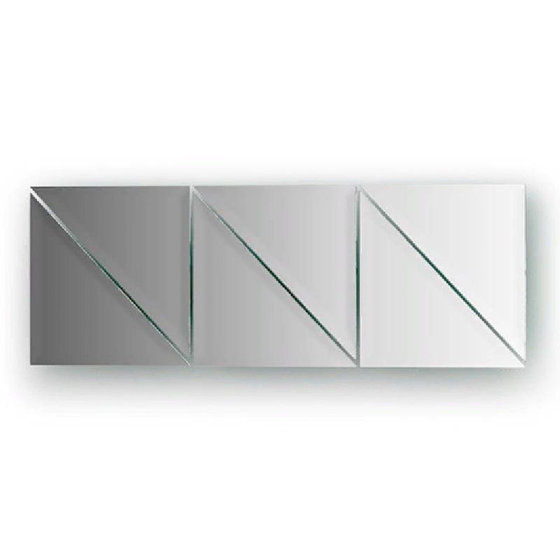 Зеркальная плитка Evoform Refractive 15х15 с фацетом 10 мм зеркальная плитка evoform reflective с фацетом 10 мм 20 х 20 см комплект 6 шт by 1515