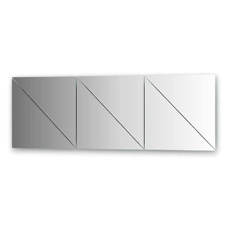 Зеркальная плитка Evoform Refractive 40х40 с фацетом 10 мм зеркальная плитка evoform reflective с фацетом 10 мм 20 х 20 см комплект 6 шт by 1515
