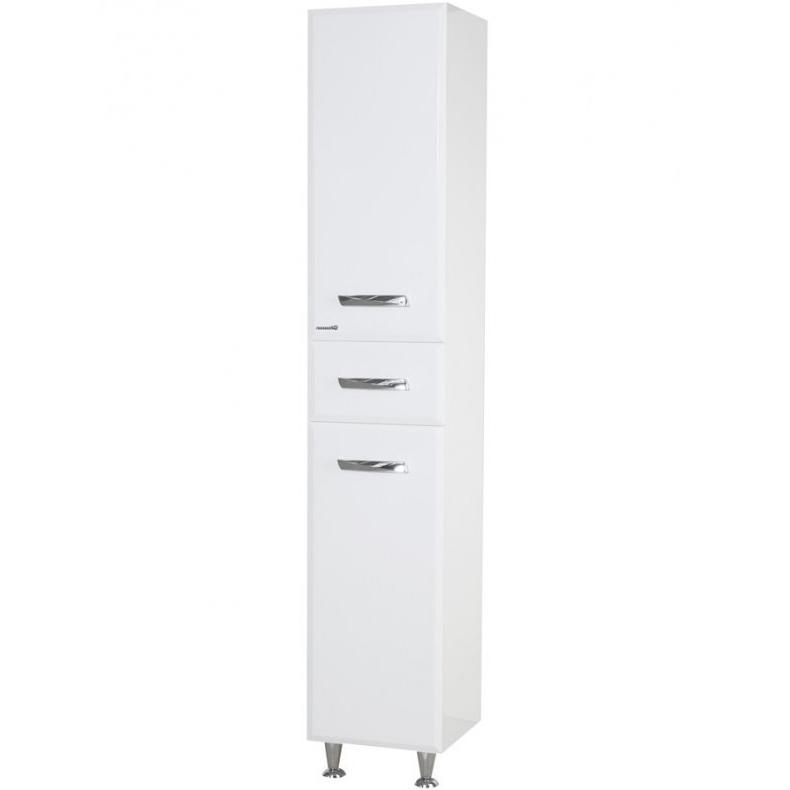Шкаф пенал Bellezza Балтика 35 L Белый шкаф пенал bellezza 50 белый