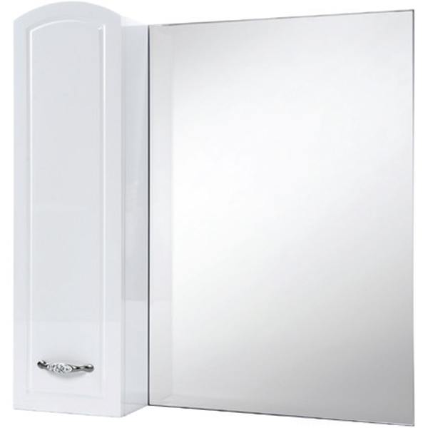 Зеркало со шкафом Bellezza Амелия 70 R Белое