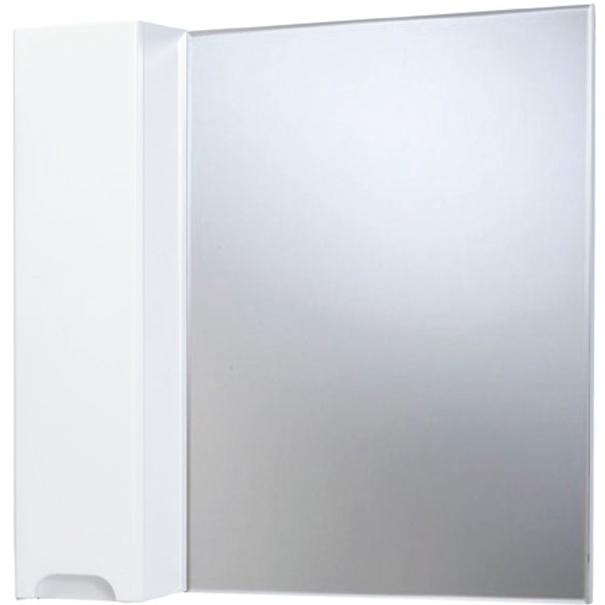 Зеркало со шкафом Bellezza Андрэа 80 L Черное зеркальный шкаф bellezza андрэа 80 r черный