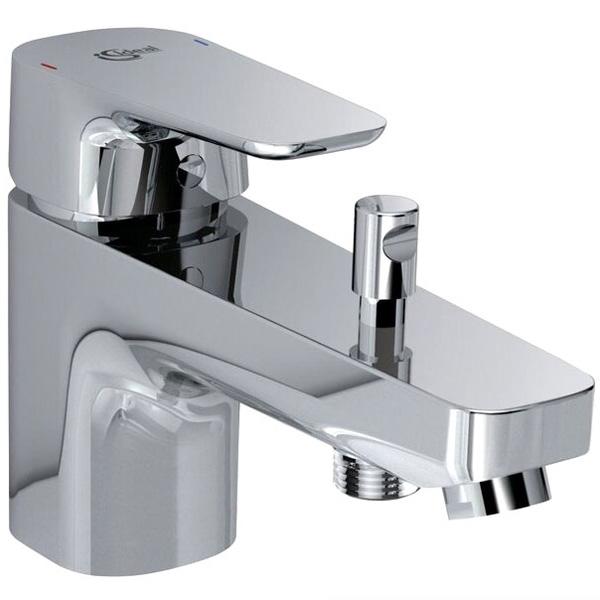 Смеситель для ванны Ideal Standard Ceraplan III B0769AA Хром смеситель д ванны ideal standard ceraplan iii b0718aa хром
