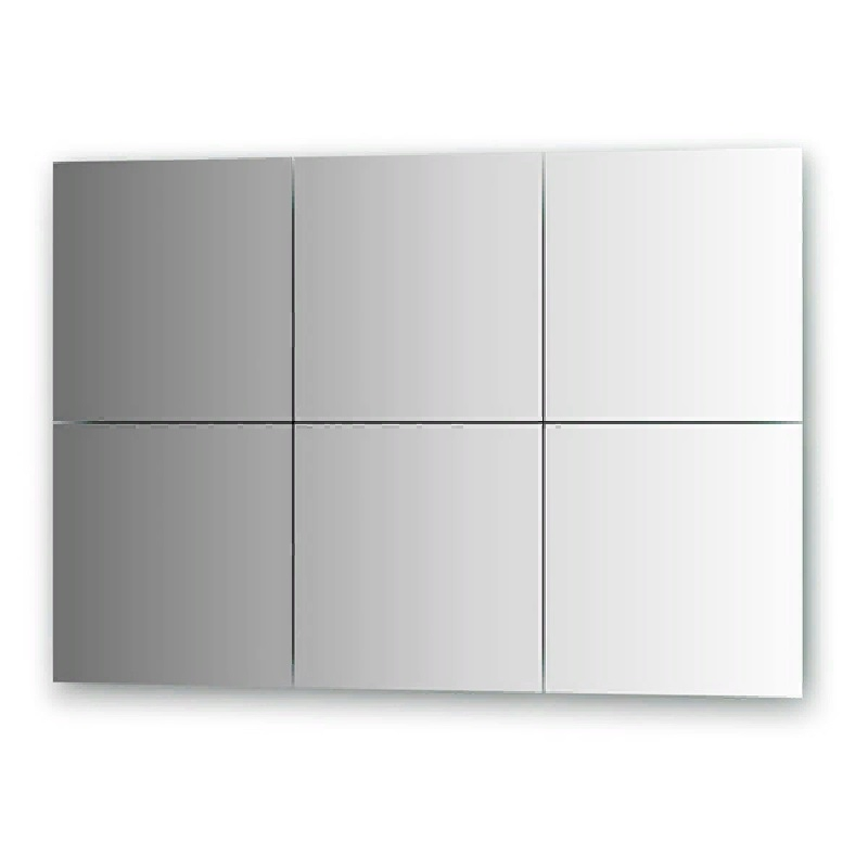 Зеркальная плитка Evoform Refractive 30х30 с фацетом 15 мм зеркальная плитка evoform reflective с фацетом 10 мм 20 х 20 см комплект 6 шт by 1515