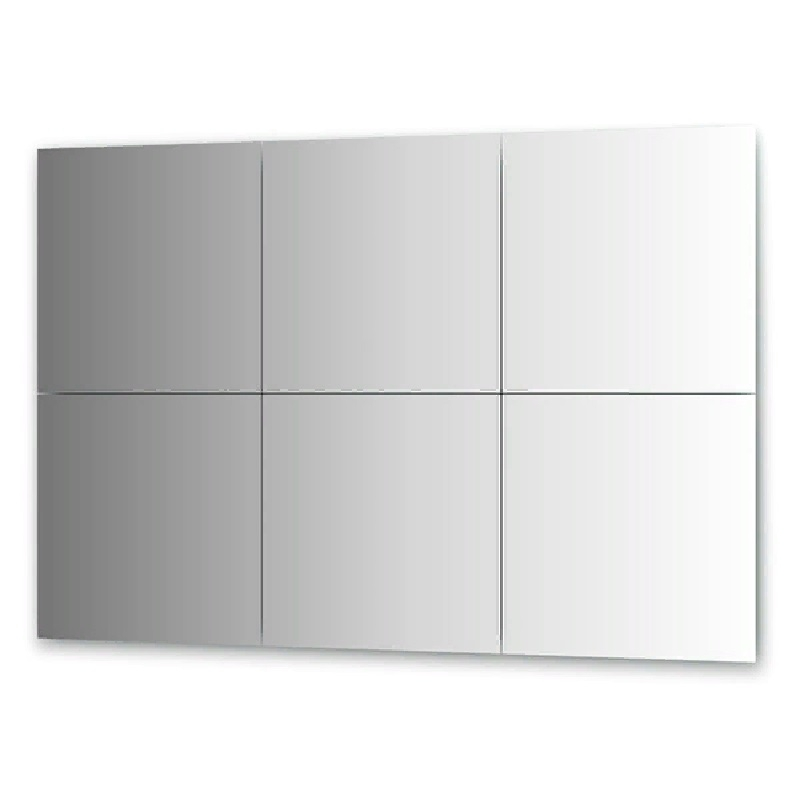 Зеркальная плитка Evoform Refractive 50х50 с фацетом 15 мм зеркальная плитка evoform reflective с фацетом 10 мм 20 х 20 см комплект 6 шт by 1515