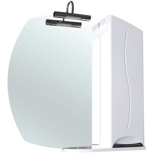 Зеркальный шкаф Bellezza Глория 75 с подсветкой R Белый зеркальный шкаф bellezza глория 85 с подсветкой r белый