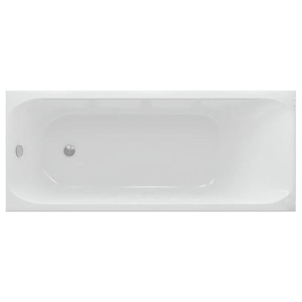 Акриловая ванна Акватек Альфа 170х70 без гидромассажа ванна без гидромассажа tansa s сталь 170х70 см