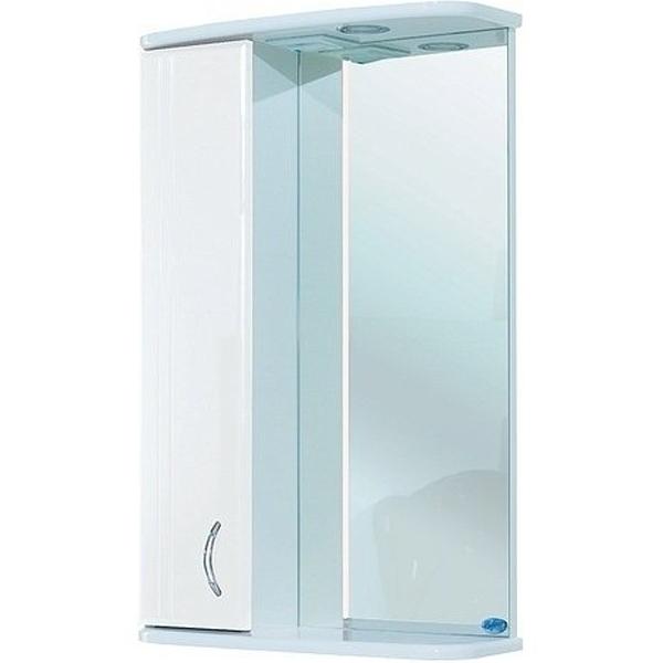 Зеркальный шкаф Bellezza Астра 60 с подсветкой R Белый зеркальный шкаф bellezza кантри 55 с подсветкой r белый