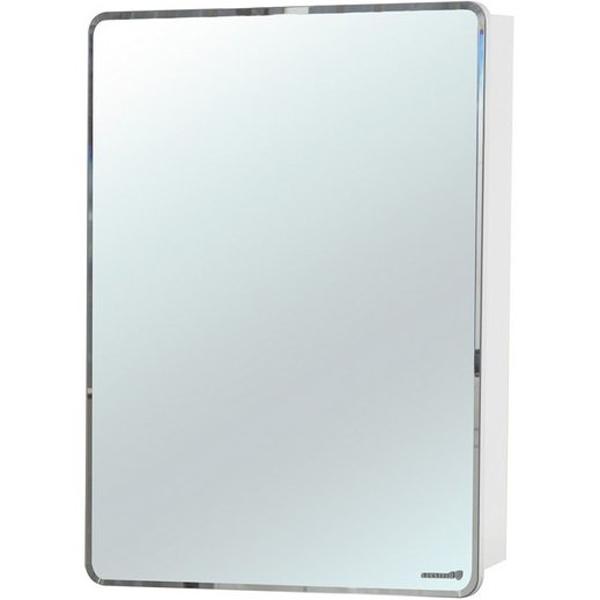 Зеркальный шкаф Bellezza Джела 60 R Белый зеркальный шкаф bellezza элеганс 60 с подсветкой r белый