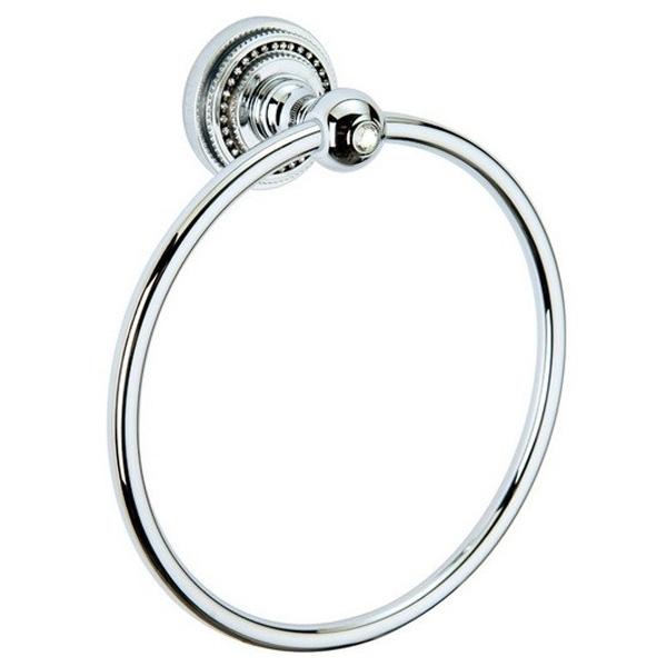 Кольцо для полотенец Boheme Brillante 10434 Хром цена 2017