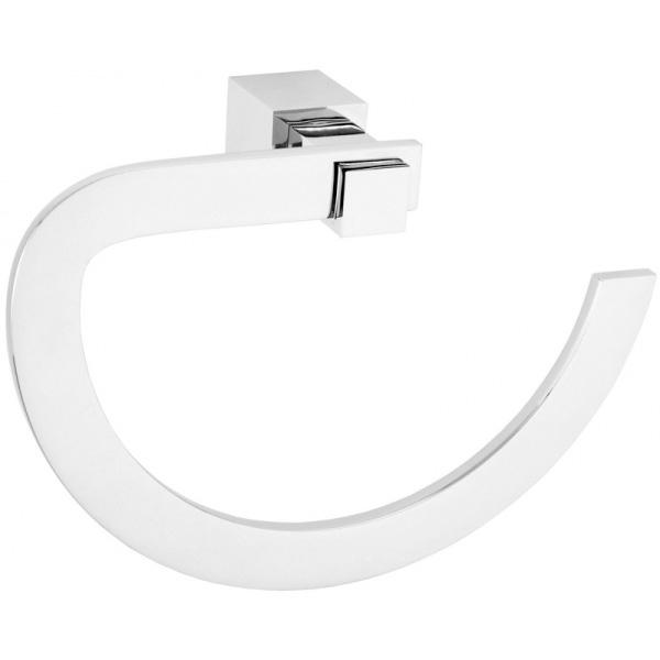 Кольцо для полотенец Boheme Venturo 10306 Хром