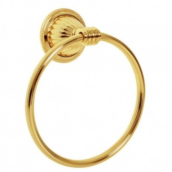 Кольцо для полотенец Boheme Hermitage 10354 Золото