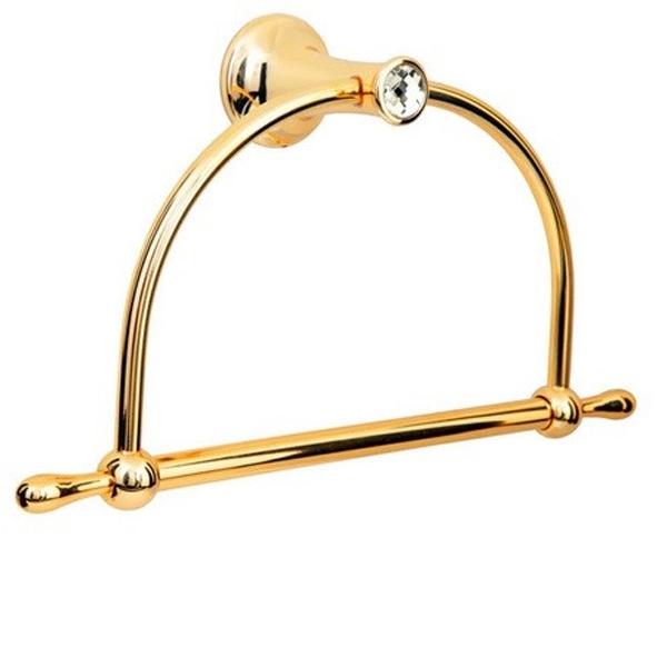 Кольцо для полотенец Boheme Chiaro 10505 Золото
