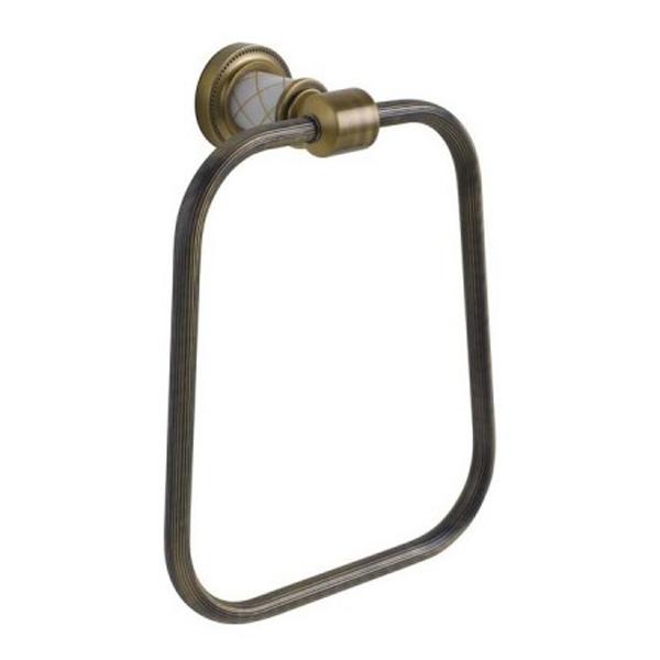 Кольцо для полотенец Boheme Murano 10905-W-BR Бронза