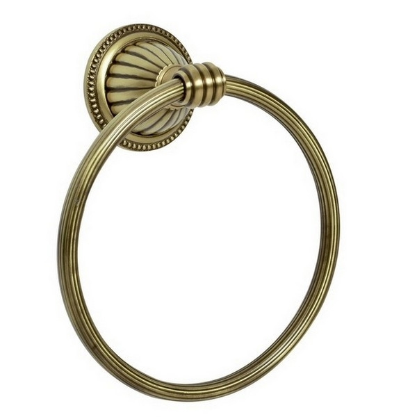 Кольцо для полотенец Boheme Hermitage 10324 Бронза