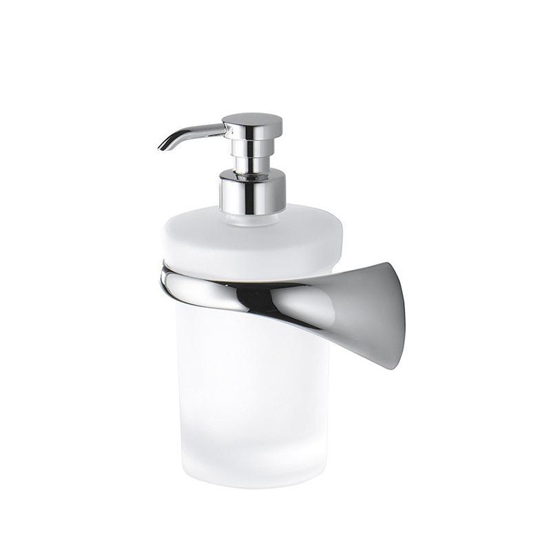 Дозатор для жидкого мыла Colombo Design Link В9310 SX.000 Белый, Хром ершик для унитаза colombo design link b2407 dx 000 белый хром
