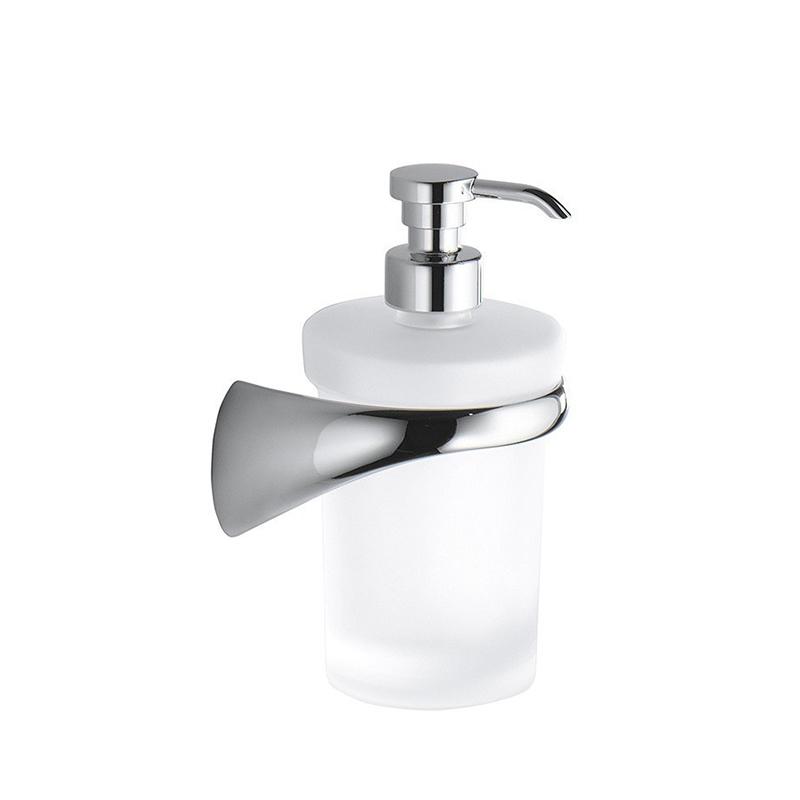 Дозатор для жидкого мыла Colombo Design Link В9310 DX.000 Белый, Хром ершик для унитаза colombo design link b2407 dx 000 белый хром