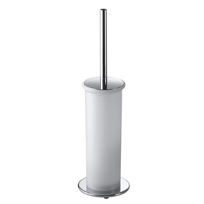 Ершик для унитаза Colombo Design Bart B2206.000 Белый, Хром фото
