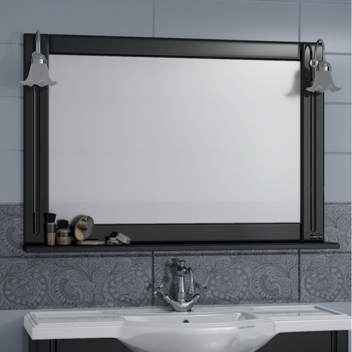 Зеркало СанТа Монарх 100 Белое