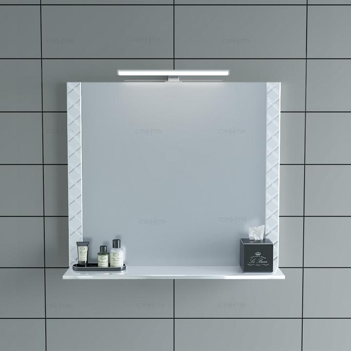 Зеркало СанТа Калипсо 80 с подсветкой