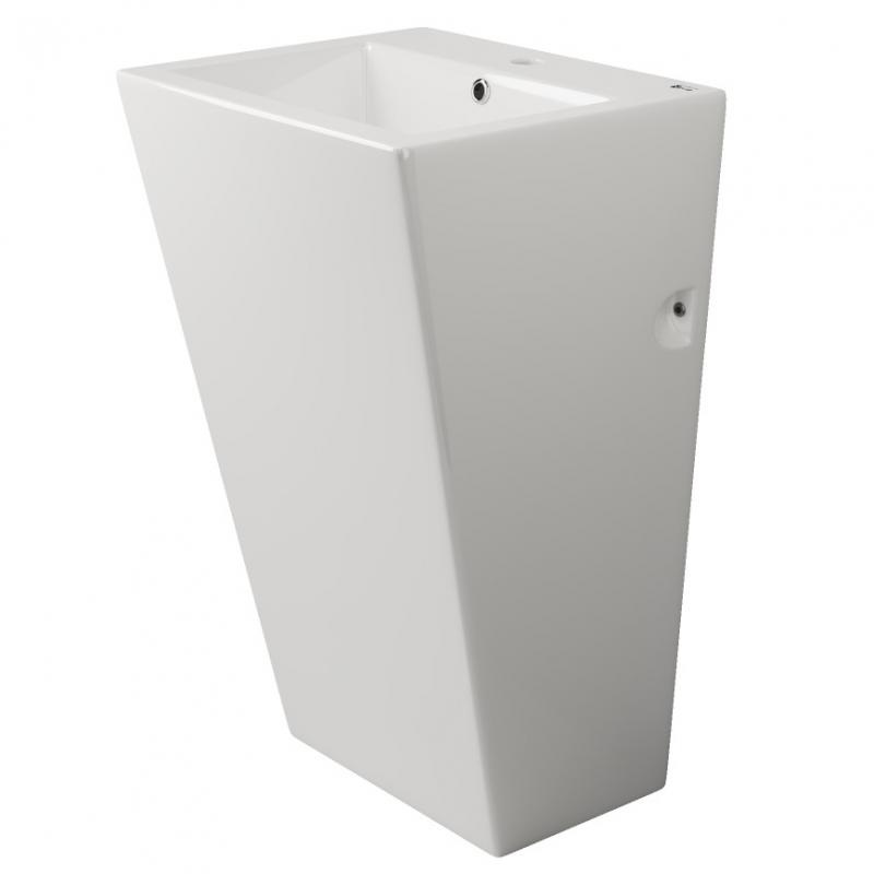 Раковина Ceramica Nova Simple 51 CN1808 Белая раковина чаша ceramalux 48 9132 белая