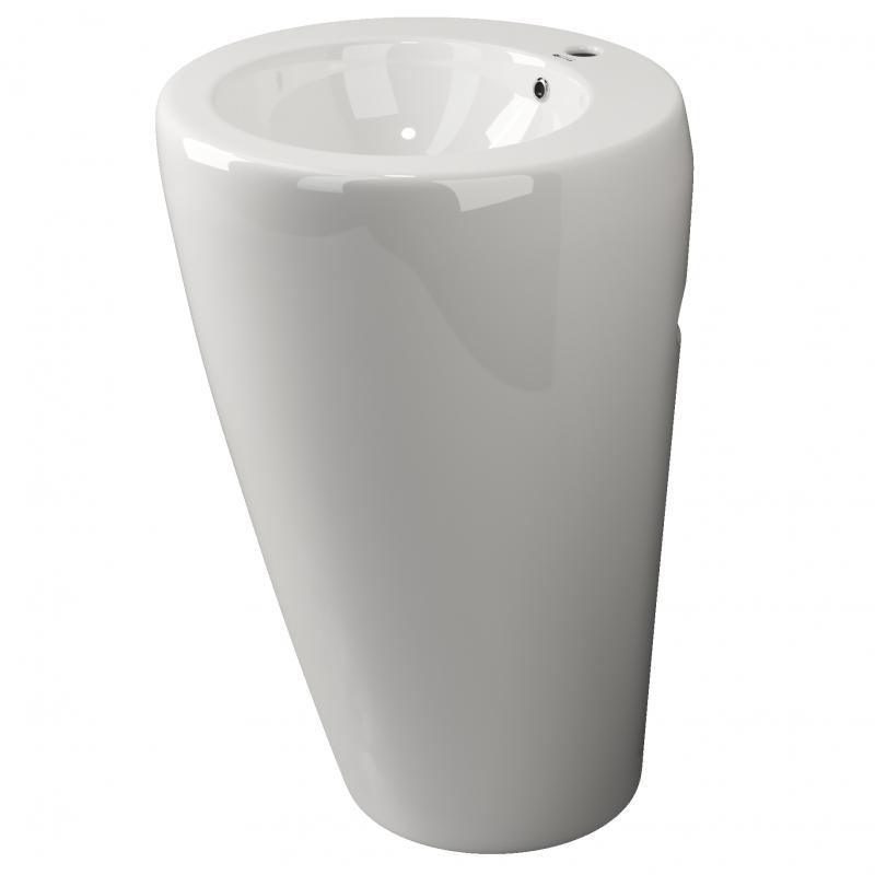 Раковина Ceramica Nova Simple 55 CN1807 Белая раковина чаша ceramalux 48 9132 белая