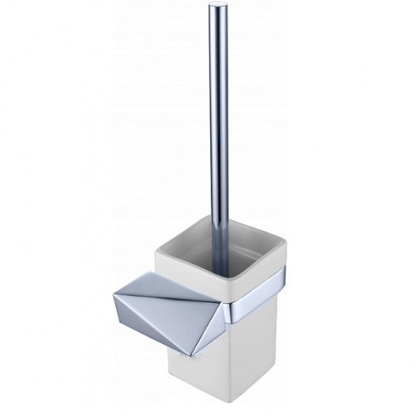 Ершик для унитаза Boheme New Venturo 10319-CR Белый Хром