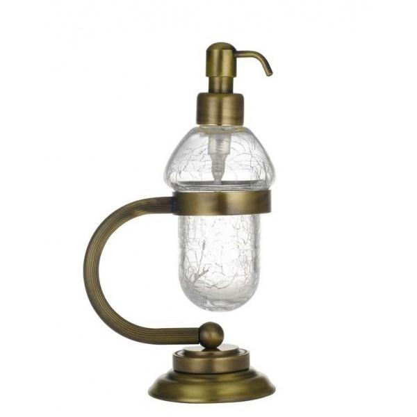 Фото - Дозатор для жидкого мыла Boheme Murano 10909-BR Бронза дозатор для жидкого мыла paulmark rein бронза d002 br