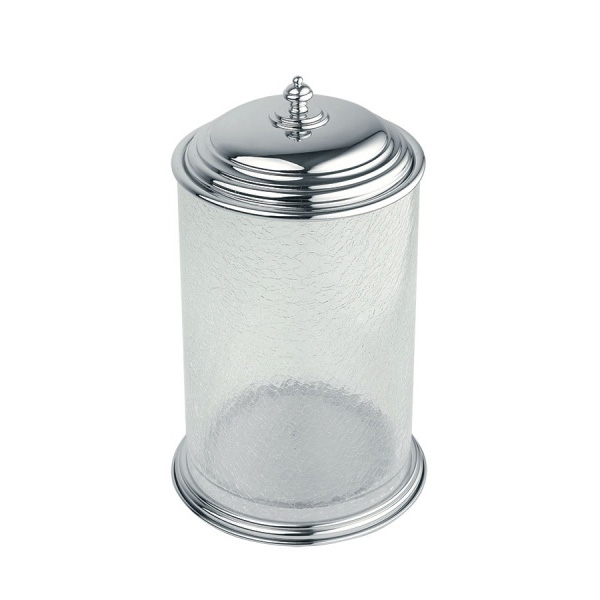 Ведро для мусора Boheme Vogue Bianco 10138 Хром