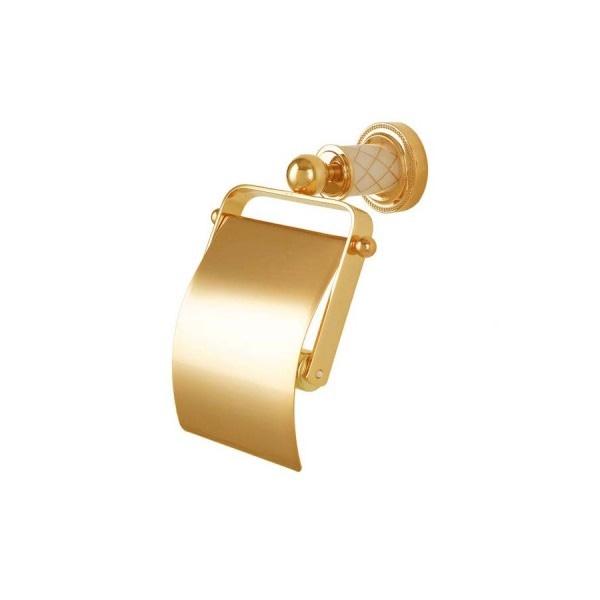 Фото - Держатель туалетной бумаги Boheme Murano 10901-W-G с крышкой Золото держатель fly s2251 w черный
