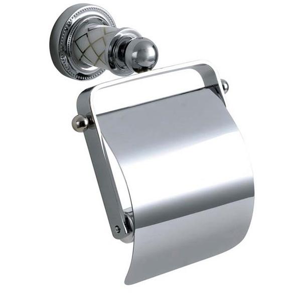 Фото - Держатель туалетной бумаги Boheme Murano 10901-W-CR с крышкой Хром держатель fly s2251 w черный