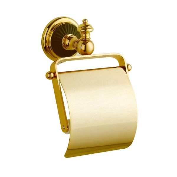 Держатель туалетной бумаги с крышкой Boheme Palazzo Nero 10151 Золото rosenthal studio line tac palazzo roro супница с крышкой 1 60 л