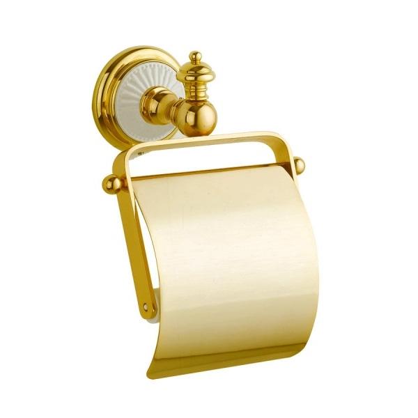 Держатель туалетной бумаги с крышкой Boheme Palazzo Bianco 10101 Золото rosenthal studio line tac palazzo roro супница с крышкой 1 60 л