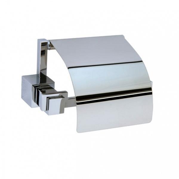 Фото - Держатель туалетной бумаги с крышкой Boheme Venturo 10301 Хром держатель туалетной бумаги gemy xga60058t хром